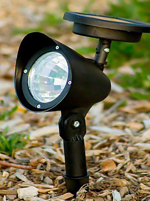 3 LED Outdoor Solar Powered Landschap Spot Light LED Yard Garden Path Lawn Lamp (CIS-57231)