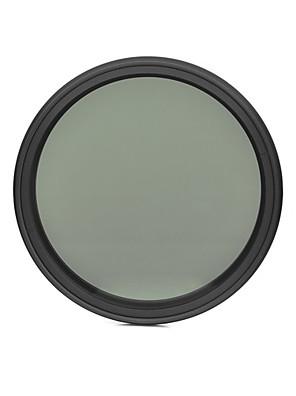 fotga® 58 milímetros que diminui magro nd filtro de densidade neutra ND2 variável ajustável para ND400