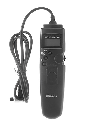 SHOOT TC-80N3 Universele Timer Remote Control voor Canon