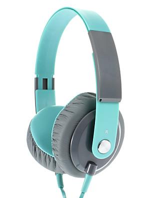 EP12 moda de 3,5 mm na orelha Headphone Fone de ouvido com microfone (verde)