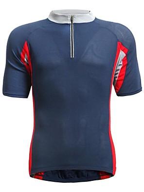 JAGGAD® חולצת ג'רסי לרכיבה לגברים שרוול קצר אופניים נושם / ייבוש מהיר ג'רזי / צמרות פוליאסטר / אלסטיין טלאים קיץ רכיבה על אופניים/אופנייים