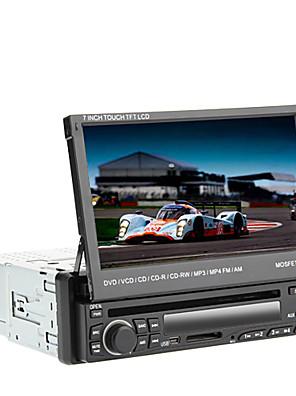 """7 """"תמיכת נגן DVD לרכב פנל דיגיטלי מסך מגע LCD 1din ipod, Bluetooth, רדיו סטריאו, RDS, מסך מגע"""