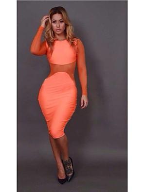 חמה למכירה של האופנה הנשים Slim Fit סקסית מועדון לילה תחבושת שמלה