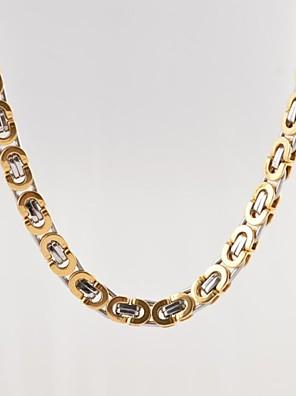 fahion mænds titaium teel kæde kabel halskæde smykker