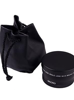 makró nagylátószögű objektív 0.45x 58mm a Canon EOS 350D / 400D / 450D / 500D / 1000D / 550D / 600D / 1100D lakossági box