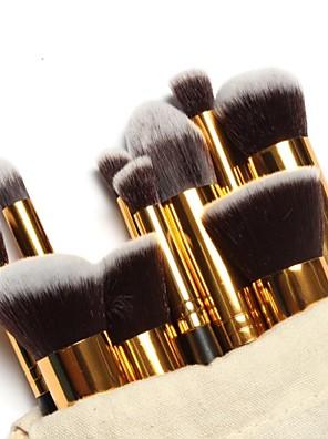 10 ks profesionálních štětců na make up v taštičce