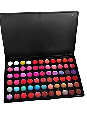 66 Paleta de Sombras Molhado / Mate / Brilho Paleta da sombra Creme GrandeMaquiagem para o Dia A Dia / Maquiagem Esfumada / Maquiagem