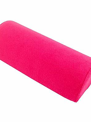 Håndklæde Fabric Soft Pink Hand Pude Pillow Rest Nail Art Behandling