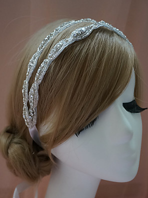 נשים ריינסטון כיסוי ראש-חתונה / אירוע מיוחד סרטי ראש