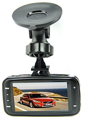 GS8000L oryginalny szklany obiektyw 1080P Samochód DVR z 2,7 calowy wyświetlacz LCD z G-czujnika Novatek