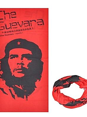 כובעים / בנדנה / צוואר קרסוליות אופנייים נושם / עמיד / עמיד אולטרה סגול / לביש / קרם הגנה לנשים / לגברים / יוניסקס אדום / שחור פוליאסטר