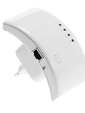 300Mbps מאריך אלחוטי 802.11n ap מגוון מהדר WiFi עם פונקצית WPS 110-230v איתנו / תוסף uk / איחוד אירופי