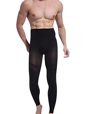 módní pánské tenký přenosný hýždě tenké nohy deváté kalhoty hubnutí kalhoty Body Shaper utáhněte laloku ny021