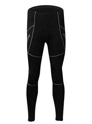 REALTOO® מכנסי רכיבה לנשים / לגברים / יוניסקס נושם / שמור על חום הגוף / ייבוש מהיר / בטנת פליז אופנייםטייץ רכיבה על אופניים / מכנסיים /