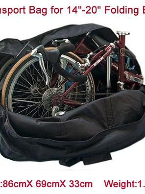 תיק אופניים 50Lאופני תחבורה ואחסנה / Wristlet תיק / תיק כתף / טיולי תרמיל / חבילת דחיסהעמיד למים / מוגן מגשם / עמיד לאבק / קומפקטי / רב