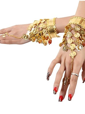 אביזרי ריקוד תכשיטים בגדי ריקוד נשים נצנצים / מתכת מטבעות / גדיל (ים) חג מולד / חג ליל כל הקדושים 25cm