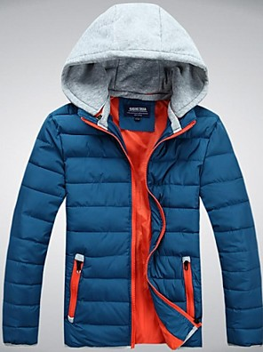 Homens Jaqueta de Inverno / Jaqueta / Blusas Acampar e Caminhar / Esportes de Neve Mantenha Quente / Materiais LevesPrimavera / Outono /