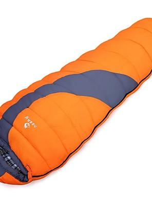 Saco de dormir Tipo Múmia Solteiro (L150 cm x C200 cm) +8°C Algodão 300g 220 X 80cm Campismo / ViajarPermeável á Humidade / Á Prova de