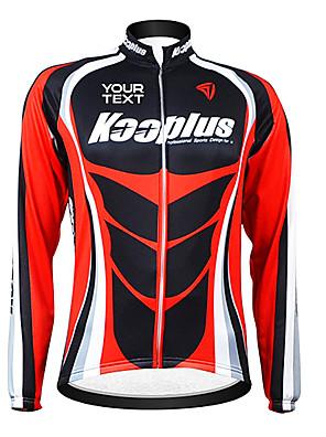 KOOPLUS® Cyklo bunda Dámské / Pánské / Unisex Dlouhé rukávy Jezdit na koleProdyšné / Zahřívací / Větruvzdorné / Zateplená podšívka /