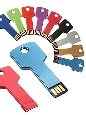 16gb belangrijkste vormige metalen usb flash drives