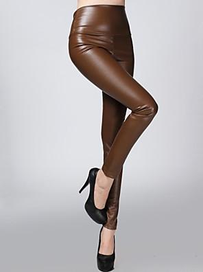 sagetech @ női nyúlékony felszerelt bőr bársonyos nadrág (több színben)