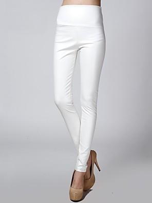 sagetech @ ženské elastické vestavěnými kožené sametových kalhot (více barev)