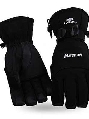 Men's Fashional Waterproof & Windproof Skiing Gloves