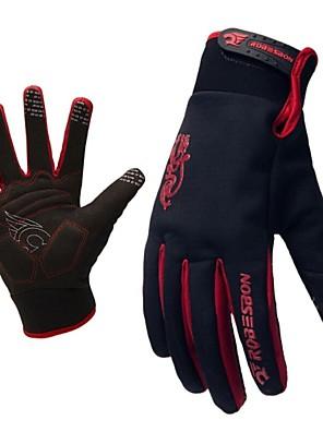 WEST אופניים® כפפות ספורט/ פעילות לגברים / כל כפפות רכיבה סתיו / חורף כפפות אופנייםשמור על חום הגוף / נגד החלקה / חסין זעזועים / עמיד