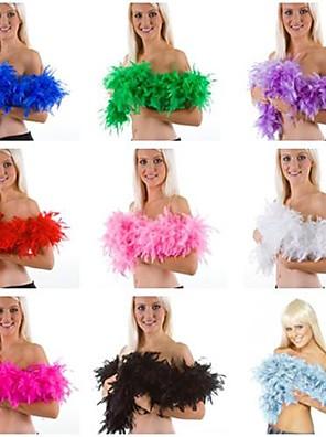 Meer Accessoires Festival/Feestdagen Halloween Kostuums Effen Meer Accessoires Carnaval Vrouwelijk Veer