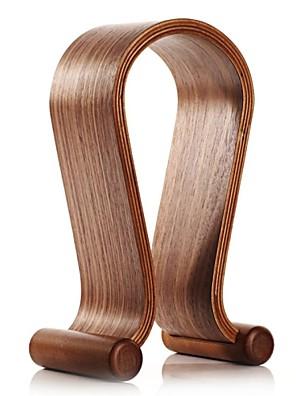 samdi tvůrčí dřevěný rám sluchátko headset sluchátka dřevěný Stojan ve tvaru U držák