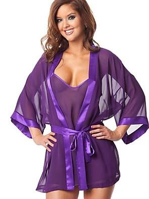 Frauen europe Bademäntel Pyjamas reizvolle Uniform Unterwäsche Nachtwäsche