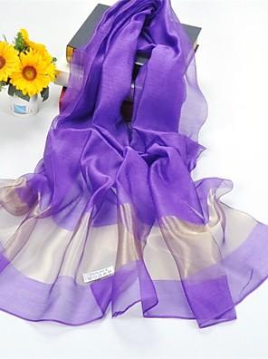 šály hedvábí / polyester jednobarevné casual / svatební šál / šály (více barev)