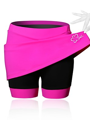 SPAKCT® Cykelnederdel Dame Åndbart / Komprimering / 3D Måtte CykelNederdele & Kjoler / Kompression Suit / Shorts / Forede shorts /