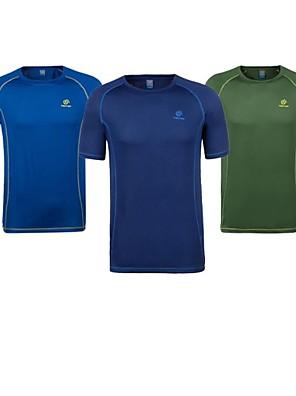 Homens Camiseta / BlusasAcampar e Caminhar / Caça / Alpinismo / Exercicio e Fitness / Corridas / Esportes Relaxantes / Badminton /
