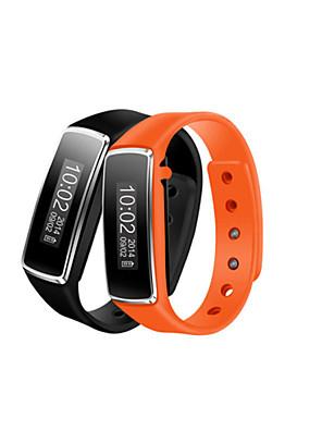 """0.91 """"oled bracelete bluetooth relógio saúde pulseira pulso esportes envoltório pedômetro com esportes&tracking sono"""