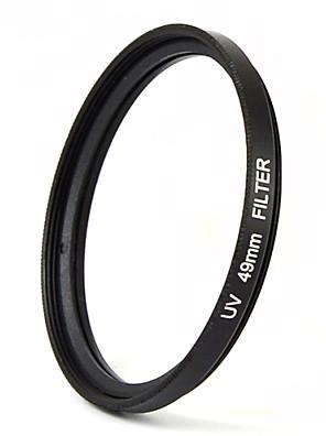 mengs® 49 milímetros filtro UV com moldura de alumínio para a câmera
