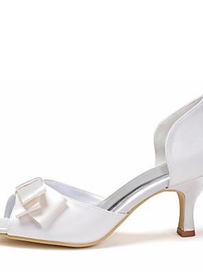 Női - Magassarkú - Esküvői cipők - Szandál - Esküvői - Elefántcsont