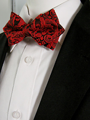 Masculino Gravata BorboletaCasual Estampado Raiom Todas as Estações