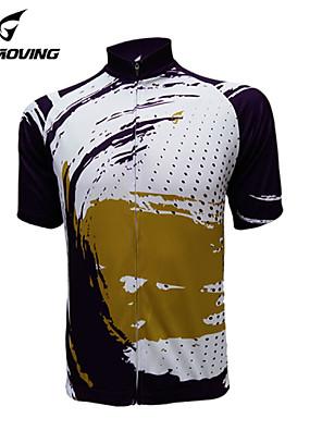 Getmoving® חולצת ג'רסי לרכיבה לנשים / לגברים / יוניסקס שרוול קצר אופנייםנושם / ייבוש מהיר / עיצוב אנטומי / עמיד אולטרה סגול / חדירות