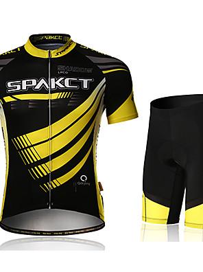 SPAKCT® Cyklodres a kraťasy Pánské Krátké rukávy Jezdit na koleProdyšné / Rychleschnoucí / Odolný vůči UV záření / Propustnost vůči
