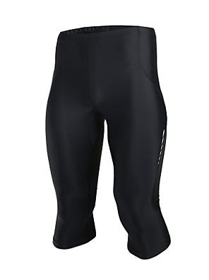 Běh 3/4 Tights / Spodní část oděvu PánskéProdyšné / Propustnost vůči vlhkosti / Rychleschnoucí / Antistatický / Komprese / Lehké