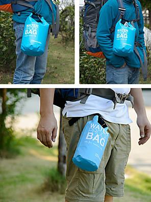 2 L Vodotěsný Dry Bag Outdoor a turistika / Lezení / Plážové Outdoor Voděodolný / Odolné vůči dešti / Odolný proti vlhkostiBílá / Zelená