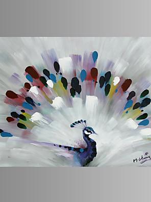 בעלי חיים / Fantasy / קפריזי / מודרני / אומנות פופ הדפסת בד פאנל אחד מוכן לתלייה , אופקי