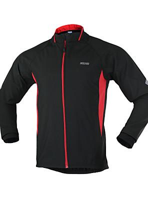 Arsuxeo® ג'קט לרכיבה לגברים שרוול ארוך אופנייםנושם / שמור על חום הגוף / עמיד / עיצוב אנטומי / עמיד אולטרה סגול / מגביל חיידקים / רצועות