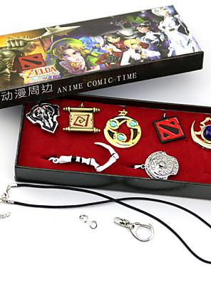 Šperky Inspirovaný LOL Cosplay Anime a Videohry Cosplay Doplňky Náhrdelníky Zlatá / Stříbro Stop Pánský / Dámský