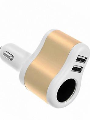 2 USB port Multi portok Other Autós töltő Csak töltő iPad / Mert Mobil5V , 1A / 2.1A)