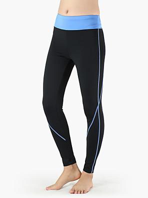 Corrida Meia-calça / Calças / Fundos MulheresRespirável / Resistente Raios Ultravioleta / Secagem Rápida / Design Anatômico / Compressão