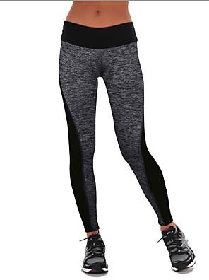 מכנסיים יוגה תחתיות / אימונית נושם / חדירות גבוהה לאוויר (מעל 15,000 גרם) / חדירות ללחות / שמור על חום הגוף / wicking / דחיסה גבוה מתיחה