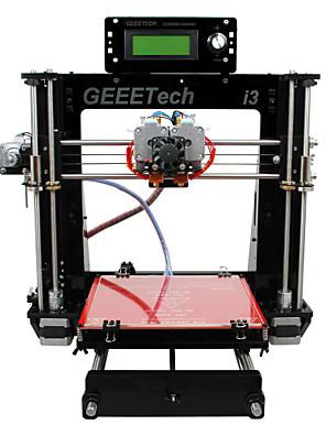 geeetech akril Prusa dual extrudálóberendezést mk8 szétszerelt állapotban i3 kit 1.75mm izzószálas 0.3mm fúvóka