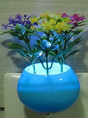 arranjo criativo e colorido flor intellisense relativa a decorar uma luz noturna
